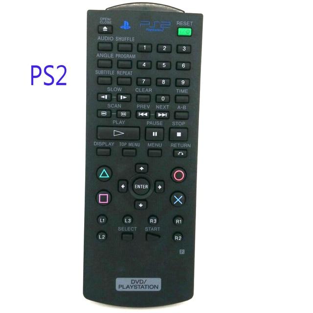 משמש מקורי שלט רחוק PS2 SCPH 10420 עבור SONY DVD לשחק תחנת 2 מרחוק בקר