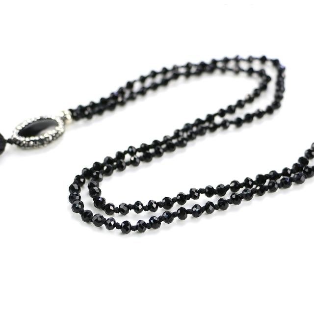 Купить ожерелье с кисточкой и бусинами inkdew для свитера