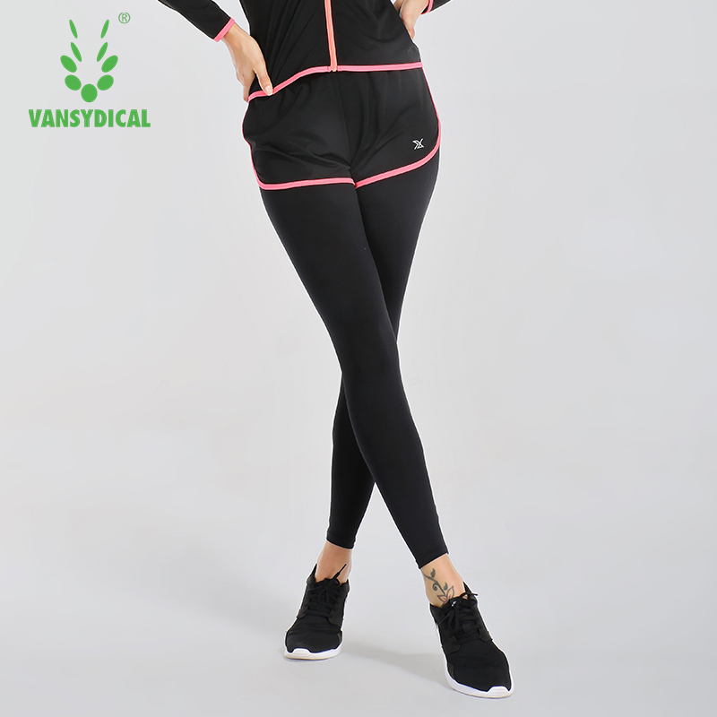 Women Running Pants 2 in 1 Athletic Pants Full Length Sports Trouser Yoga Compression Leggings Female Outdoor Workout Run Bottom