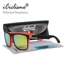 Высокое качество, фирменный дизайн, поляризованные солнцезащитные очки для мужчин и женщин, квадратные очки, Винтажные Солнцезащитные очки для мужчин