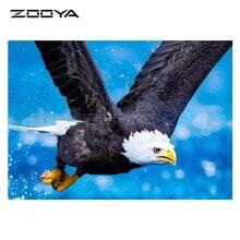 ZOOYA 5D DIY Diamond Animal Painting Cross Stitch