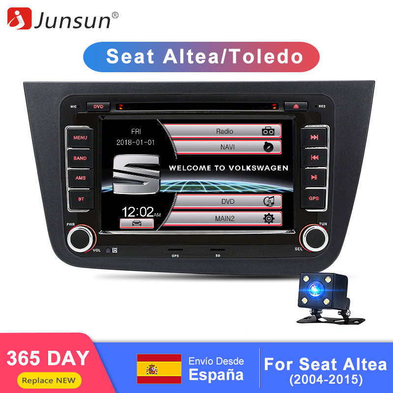 2 DIN Car DVD Player GPS for SEAT Altea Toledo Leon skoda VW with navigation touch
