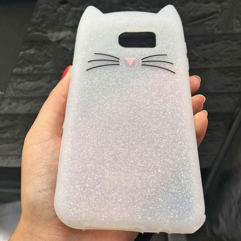 For Samsung J3 J5 2017 EU J7 pro 2017 Case Cute Cartoon Cat Cases 3D Silicone Soft Back Cover Funda For Galaxy J530 Phone Cases (6)