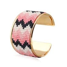 Bohemian Crystal Bangle Bracelet