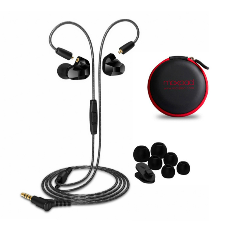 Original MOXPAD X9 Universal Earphone Built in Mic For Iphone Samsung Xiaomi HIFI Bass Music Headphones With Box and Spare...  samsung headphones | Samsung Gear IconX Review: Truly Wireless Earbuds But Don't Buy Them! Original MOXPAD X9 Universal Earphone Built in Mic For Iphone font b Samsung b font Xiaomi