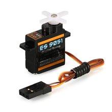 1pcs EMAX ES9051 4.3g Digital Plastic Gear Servo 4.8V 0.8kg 0.09 Sec/60 Degree for RC FPV