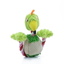 Bird Shape Plush Toy for Small Dogs