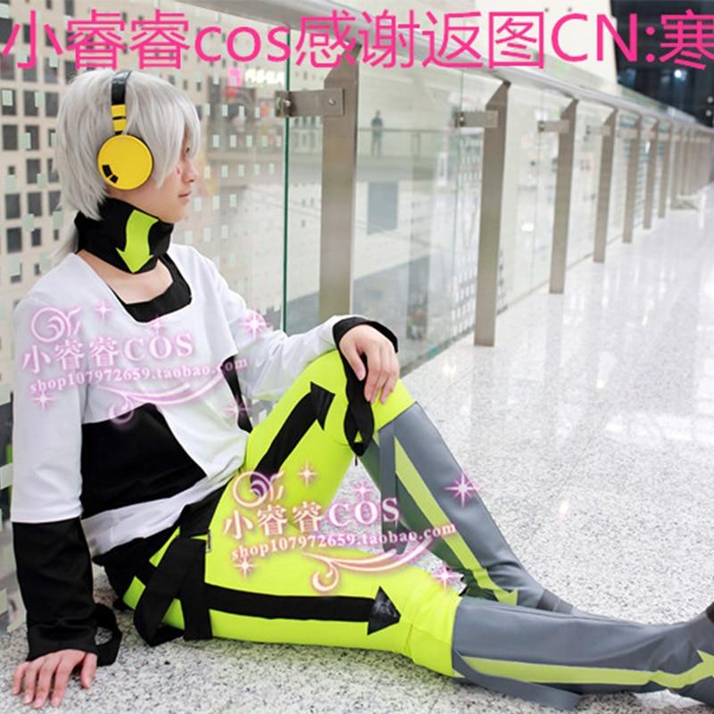 Anime Kagerou Project Konoha Haruka Cosplay Costume Fluorescence Color Unisex Halloween Party Costumes
