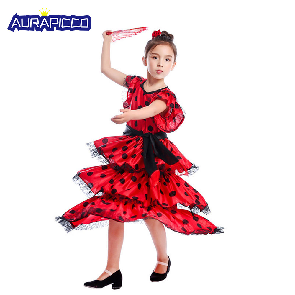 7d6c33b54 Vestido De Española Disfraz | Wig Elegance