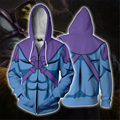 He-Man and the Masters of the Universe Cosplay Costume 3D Print Sweatshirt Zipper Hooded Cartoon Sweatshirt fashion Jackets