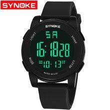 SYNOKE Digital Sports Wrist Watch Reloj LED Hombre Waterproof