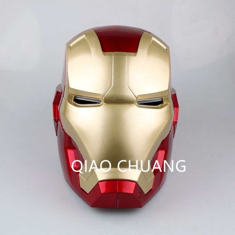 Avengers:Infinity War SUPER HERO Universe Robert Downey Jr Iron Man Tony Stark Helmet Adult Touch Sensing Mask 1:1 Model Toy G24 free shipping iron man motorcycle helmet mask tony stark mark 7 cosplay mask with led light