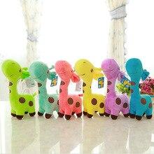 18 и 25 см милые детские игрушки 6 цветов в наличии Радужная плюшевая игрушка жираф куклы для детей подарок для ваших друзей мягкие игрушки 1 шт./пакет