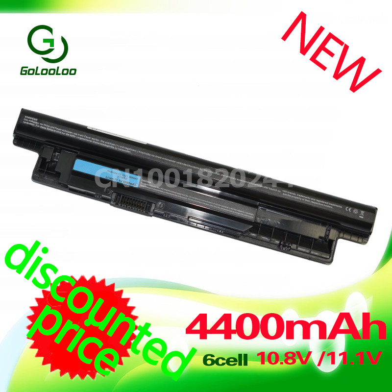 Golooloo 4400mah Battery For Dell Vostro INSPIRON xcmrd MR90Y 17R 5721 17 5521 3721 15R 2521 2421 15 3521 14R 5421 3421 VR7HM laptop battery for dell inspiron 17r 5721 17 3721 15r 5521 15 3521 14r 5421 14 3421 mr90y vr7hm w6xnm x29kd vostro 2521