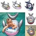 Novo Tubarão Em Forma de Crianças Assento Float Piscina Inflável Do Bebê Da Criança de Natação Nadar Anel de Peixe de Alta Qualidade