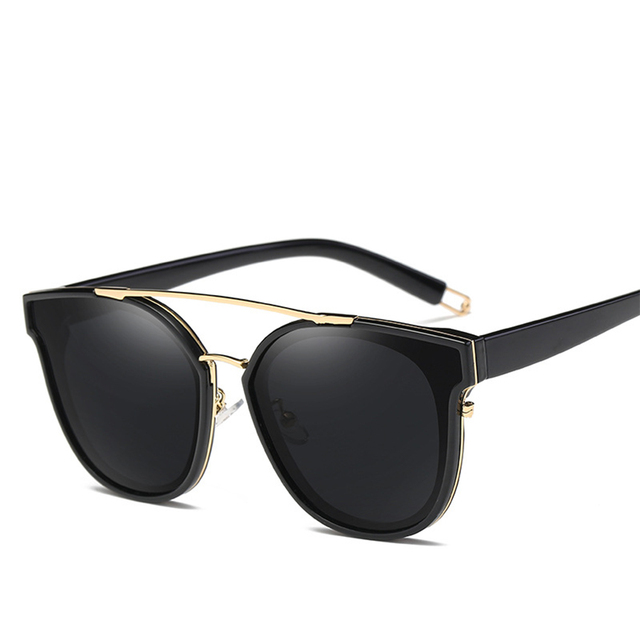 b2e4f3146a4 GAMT Retro Aviator Polarized Sunglasses Fashion Oversized For Women and Men  with Metal Frame UV Protection Sport Party Favors HD