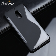 Fintorp Business Soft TPU Phone Case For Nokia 6 5 3 Full Silicone Cover Anti-Skid Protective Back Covers