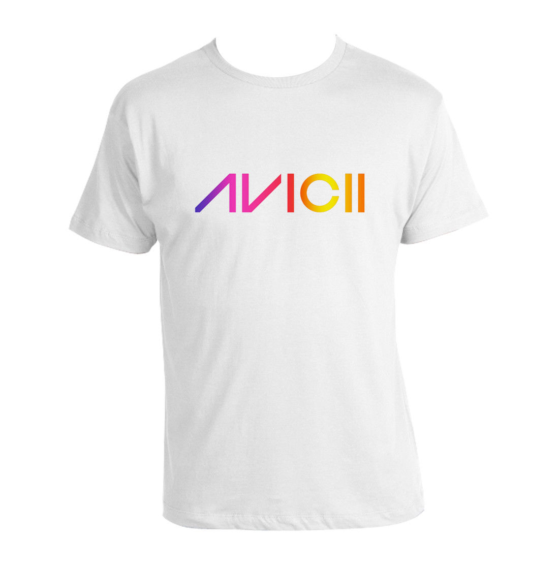 Avicii T-Shirt unisex printed Tee avicii white EDM Legend Dance Music white Fashion Men T Shirts Free Shipping image