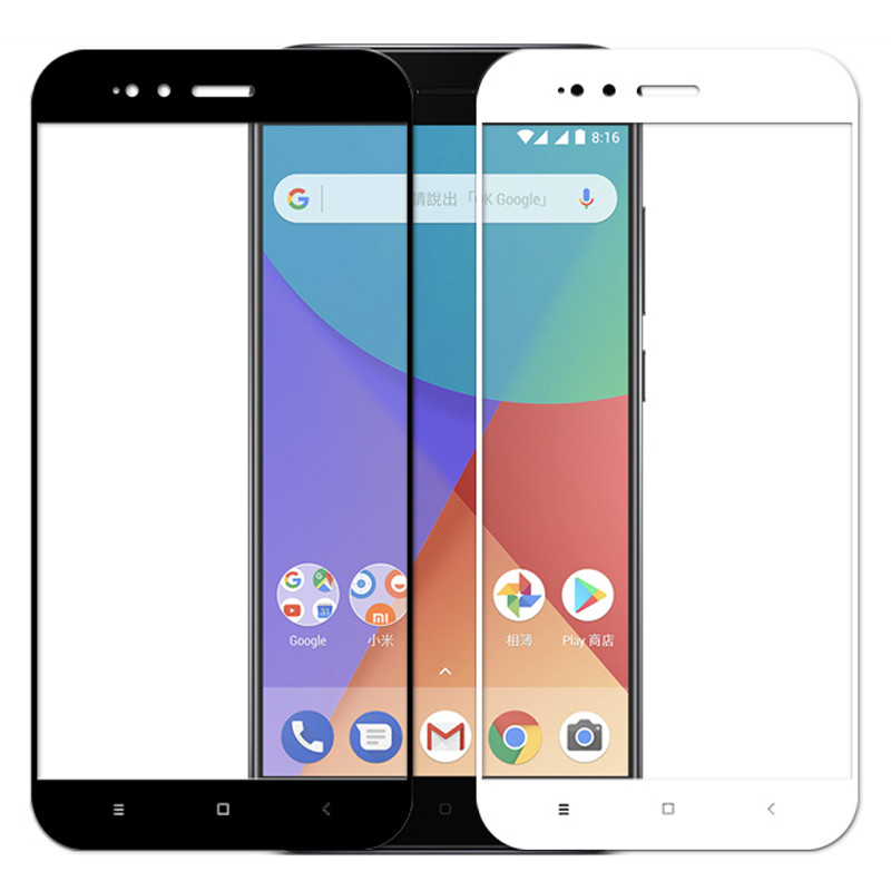 Full Cover Protective Glass For Xiaomi Mi A3 A2 Lite A1 Screen Protector Tempered Glass Film On Xiomi A2 A3 Light Safety HD Film