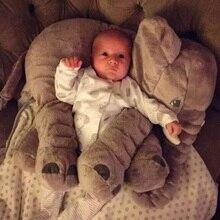 Super Comfy Plush Elephant Pillow For Baby
