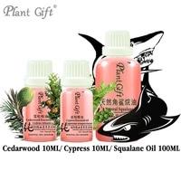 100 Pure Plant Essential Oils Cedarwood Cypress Squalane Oil Morocco Imports Convergence Pores Hemostasis Improve Acne