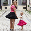 European style  mother daughter skirts casual fluffy Pettiskirts Chiffon Tutu Petti Skirt Princess Skirts  for party