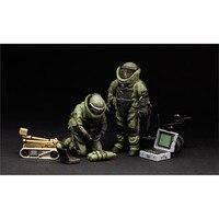 Ohs Мэн HS003 1/35 США Обезвреживание боеприпасов специалистов и робот миниатюры сборки цифры Конструкторы и модели
