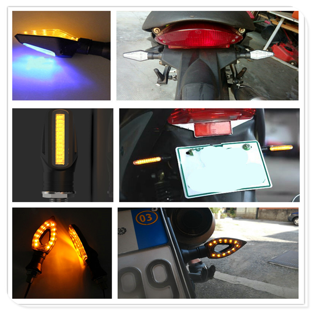 For BMW <font><b>R1200RT</b></font> SE R1200S R1200ST S1000R S1000R S1000RR Motorcycle Accessories <font><b>led</b></font> Turn Signal Light Indicator Amber Lamp image