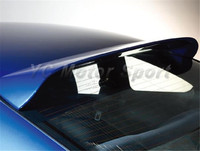 Car Accessories FRP Fiber Glass DM Style Roof Spoiler Fit For 1999 2002 200SX S15 Rear Roof Spoiler Wing