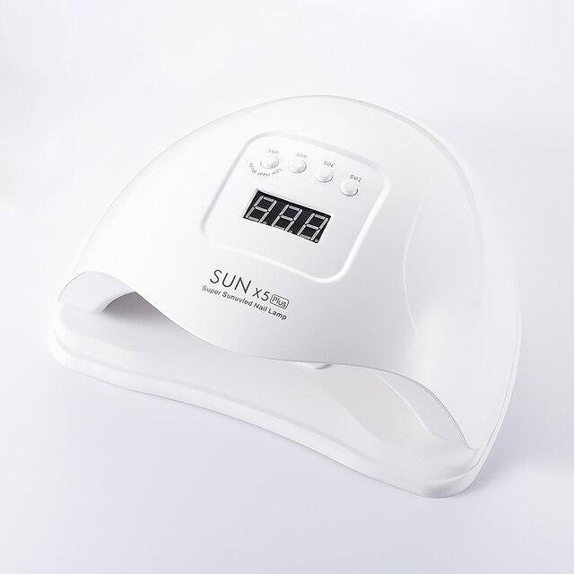 72 ワット UV Led 白色ランプネイルドライヤーネイルジェルため乾燥マニキュア工作機械白太陽の光氷のランプ高速乾燥機ネイルアートツール