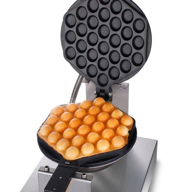Four en fer à bulles pour gaufres, commercial électrique des œufs de Hong Kong, 220 V/110 V