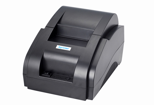 ФОТО Free shipping USB port 58mm Thermal printer Thermal recepit printer Pos printer Thermal pos printer wholesale Xprinter XP-58IIH