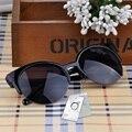 Мода Cat Eye Солнцезащитные Очки Женщины Винтаж Вдохновленный Круглый Круг Солнцезащитных Очков Полуободковые Солнцезащитные Очки Gafas óculos de sol женщина для