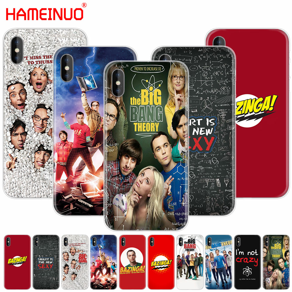HAMEINUO The <font><b>Big</b></font> <font><b>Bang</b></font> Theory Sheldon cell <font><b>phone</b></font> Cover <font><b>case</b></font> for iphone X 8 7 6 4 4s 5 5s SE 5c 6s plus image