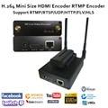 U8Vision MPEG-4 AVC/H.264 wifi HDMI codificador de vídeo transmisor HDMI transmisión en directo codificador inalámbrico H264 iptv Encoder