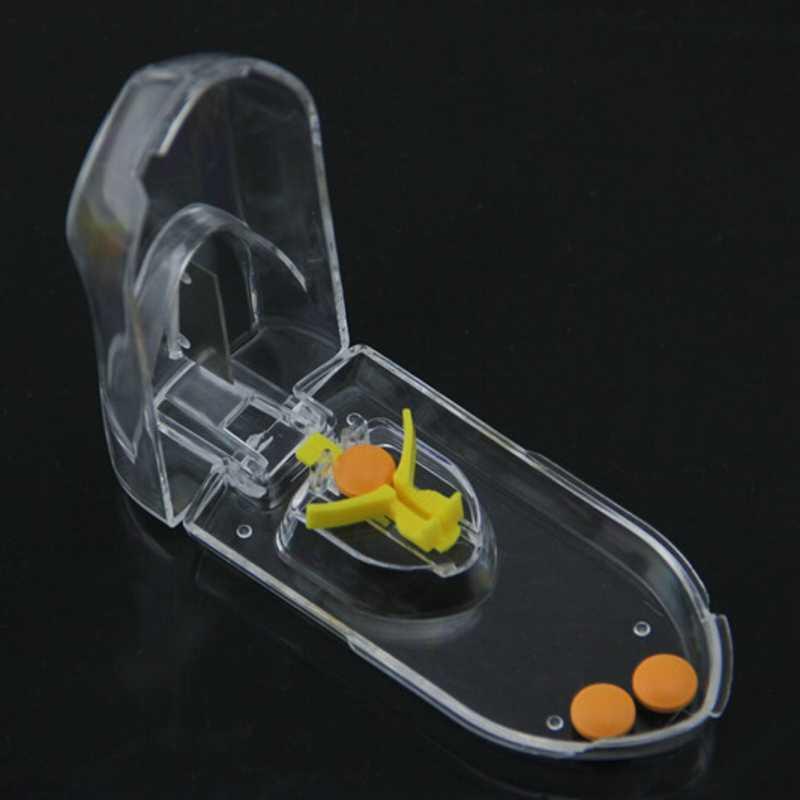 薬箱丸薬スプリッタカッターケース容器タブレット収納ケース Spilt ピル分割 Taglierina Pillole 分周器旅行