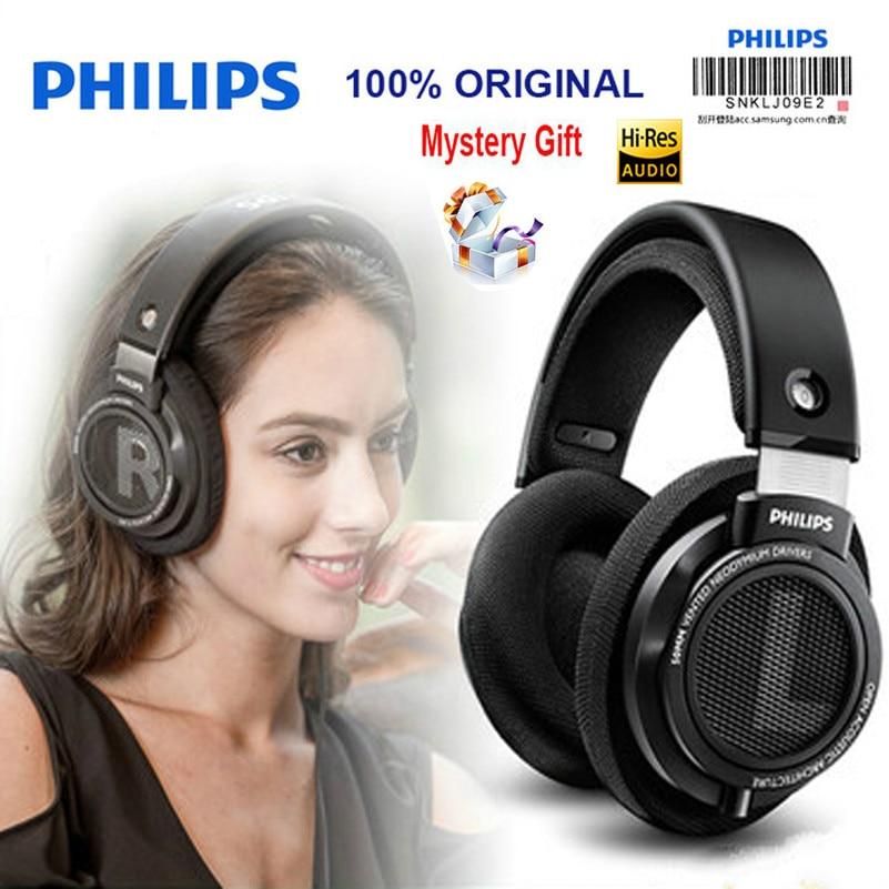 Original Philips headset SHP9500 Professional Headphones 3 5mm Wired 3 meter long earphones for huawei Xiaomi