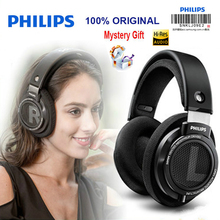 Philips auriculares profesionales SHP9500, cascos originales con cable de 3,5mm, 3 metros de largo, para huawei, Xiaomi, MP3