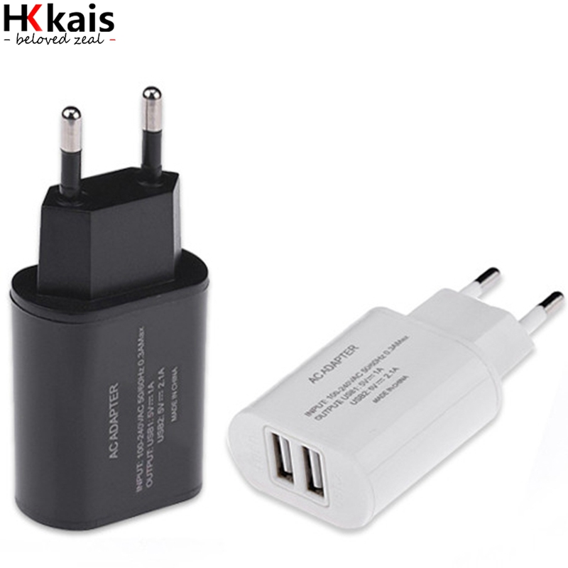 5V3.1A USB Charger,HKkais Travel Wall Charger Adapter Portabs