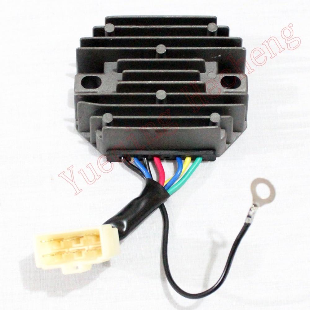 Voltage Regulator Rectifier H1550-64600 12V for Tractor B7200D B6200DVoltage Regulator Rectifier H1550-64600 12V for Tractor B7200D B6200D