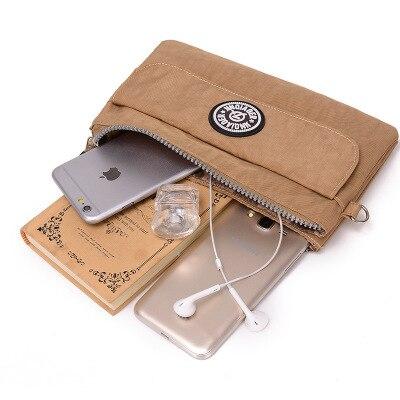 Coin Purse for the Coins Wallet Make Up Bag Women Wallet Washed Nylon Zipper Pouch Mini Wristlet Bag Monederos Para Monedas Кошелёк