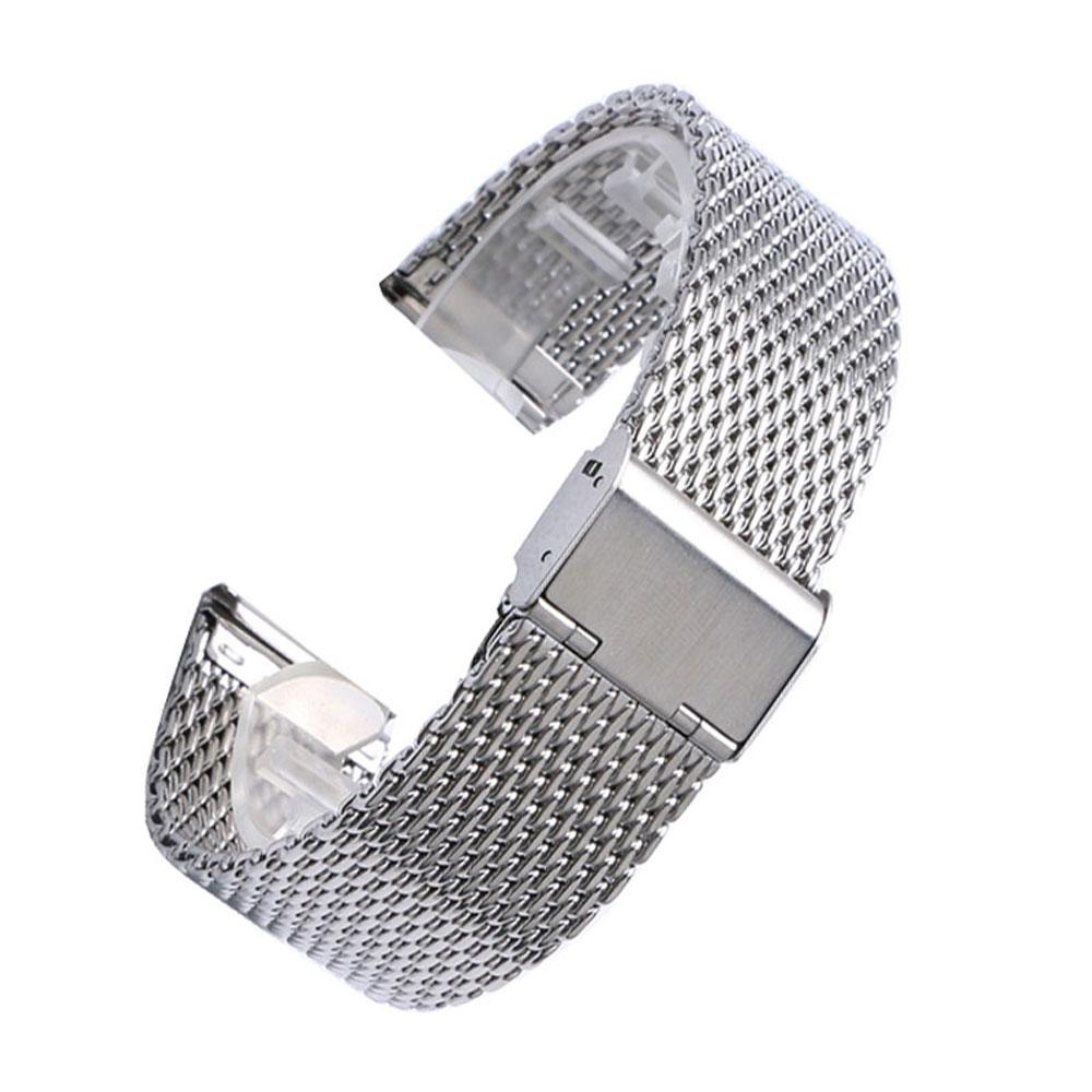 20 мм 22 мм сплошной миланский сетчатый - Аксессуары для часов - Фотография 4