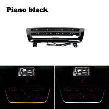Panel de luz led para tablero de instrumentos, panel de CA con luz azul y naranja, luz de ambiente para BMW Serie 3 y 4 F30 LCI