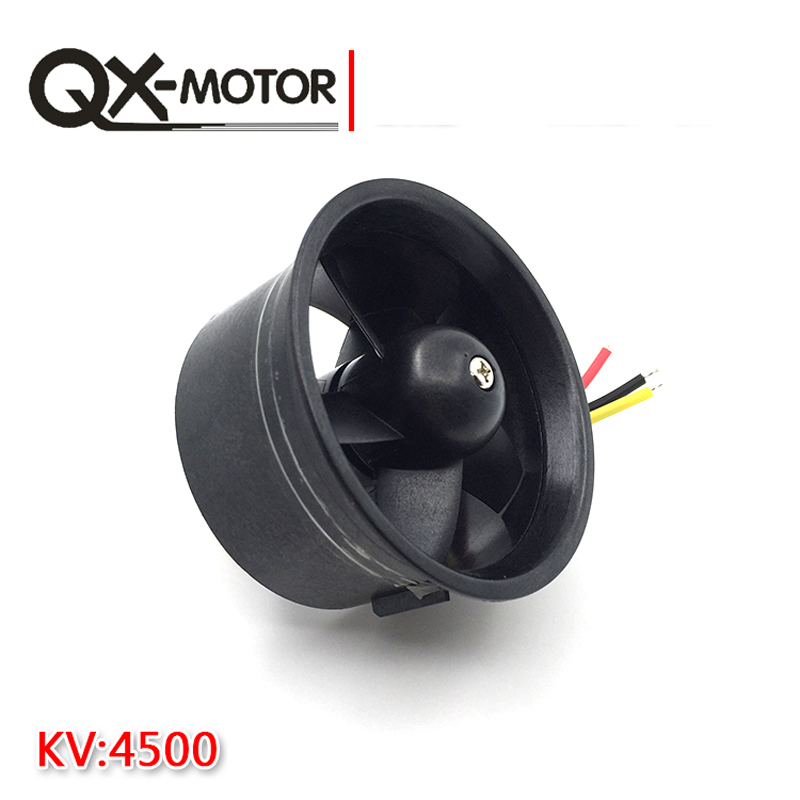 Image 4 - QX Motor Electric Ducted Fan 2611 4500KV Brushless Motor 64MM EDF 5 Blades Unit 40A esc for RC Airplane Model Accessories Parts-in Parts & Accessories from Toys & Hobbies on AliExpress