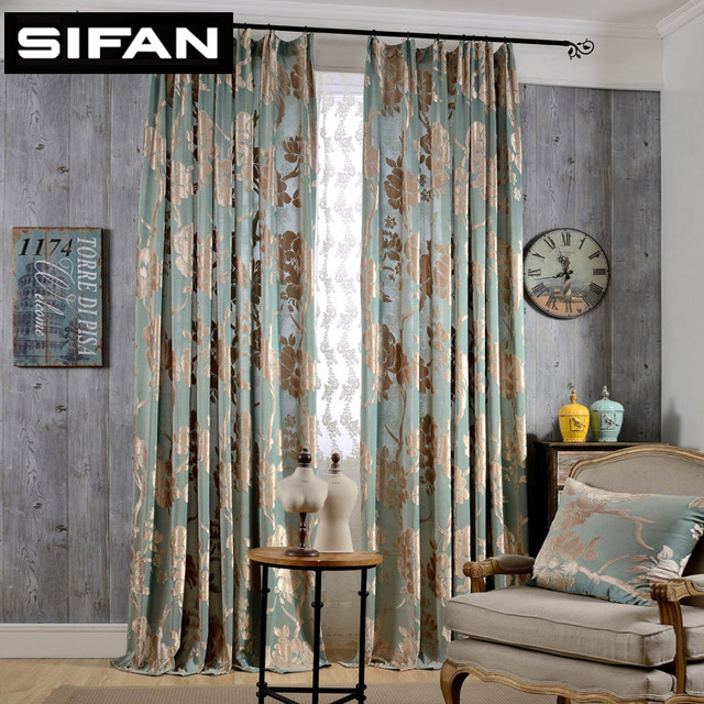 Genial European Jacquard Blackout Curtains For Living Room Modern Bedroom Curtains  For The Bedroom Elegant Window Curtains