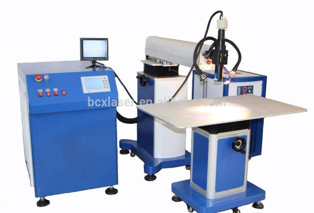 WuHan BCXlaser 300W high speed channel letter signs laser welding machines for sale ...