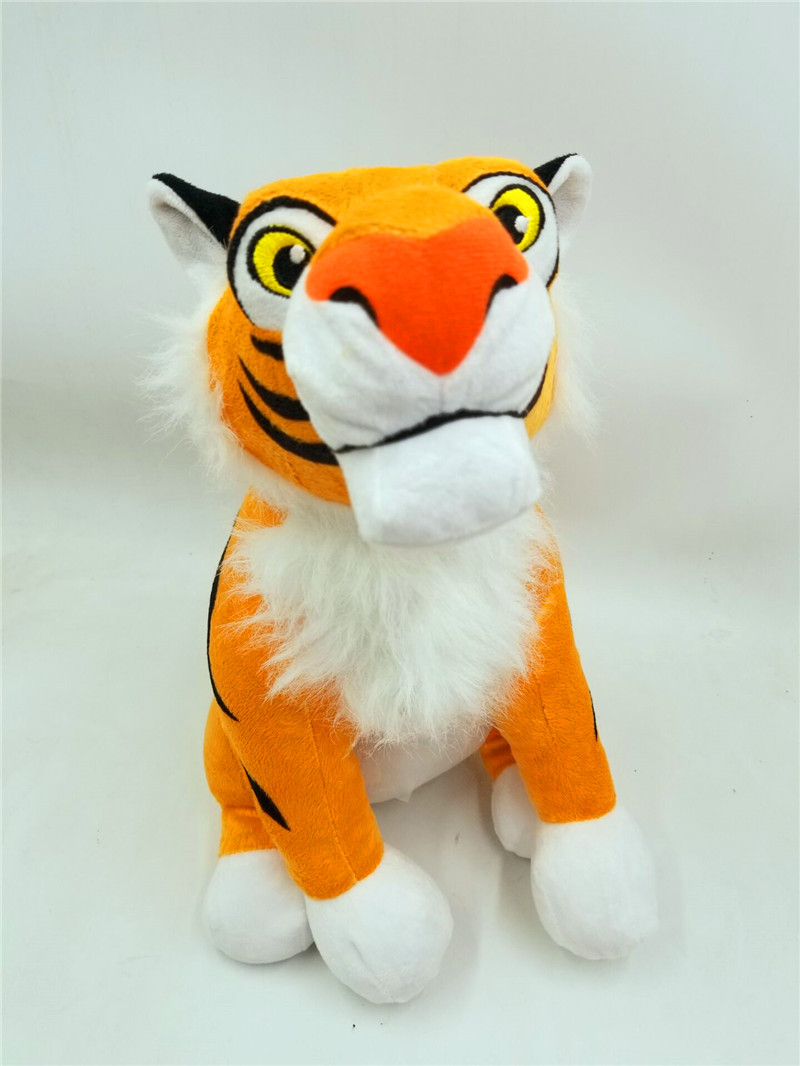 Nuevo 14 Rajah Tigre De La Felpa Animal Relleno Juguete Princesa Jasmine Aladdin Cine Y Tv Aliexpress