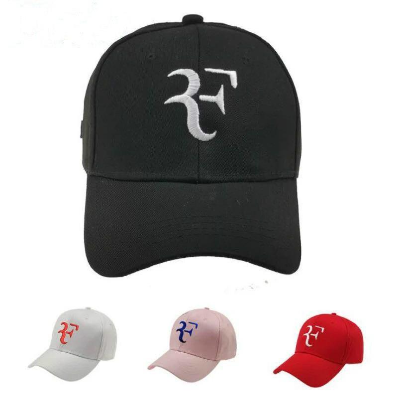 Tennis Star Roger Federer   Baseball     Cap   For Men Adjustable Cotton Embroidery F Snapback Hip Hop   Cap   Outdoor Sports Trucker Bone