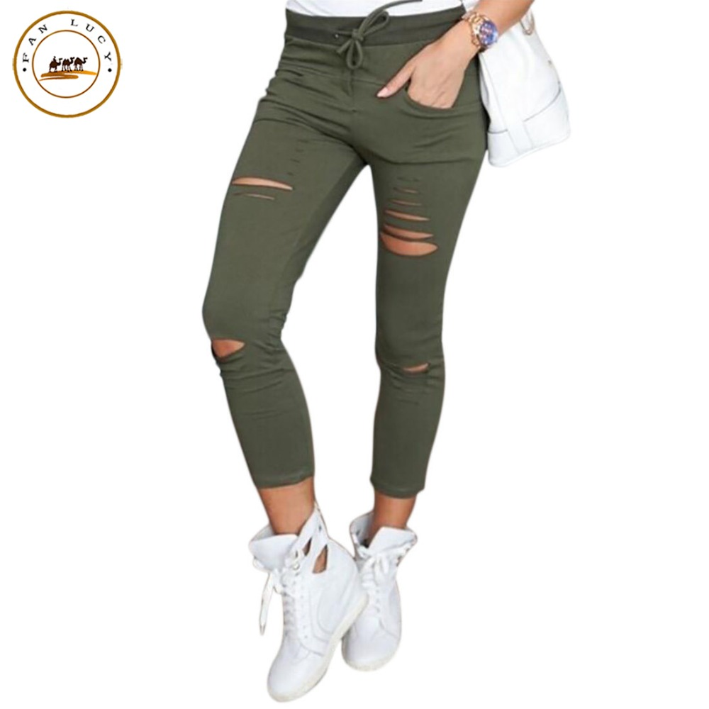 Innovative Fashion Women39s 2016 New Joggers Dance Long Trousers Sweatpants Lace