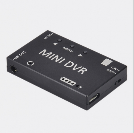 Mini FPV DVR Module NTSC/PAL Switchable Built-in Battery Video Audio FPV Recorder For RC Racing FPV Drone Models